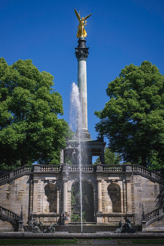 Friedensengel, Stadtführung München, sightseeing munich, App, Test, Empfehlung, Erfahrung, Reiseblog, Fotoblog, Kathrin's World, kathrinsworld, Kathrin Schlott