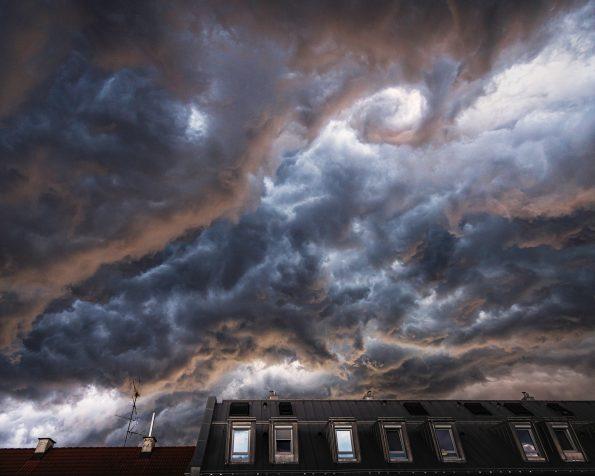Foto des Monats, München, Gewitter, Unwetter, Unwetterwalze, Wolken, Reiseblog, Fotoblog, Kathrin's World, kathrinsworld, Kathrin Schlott