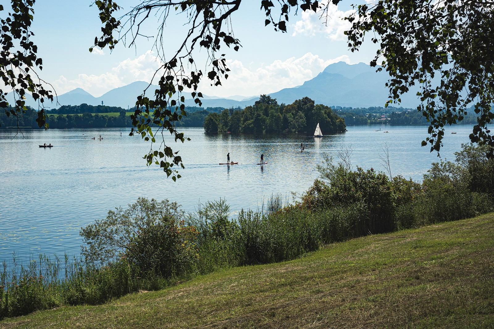 Uffing am Staffelsee, Badebereich