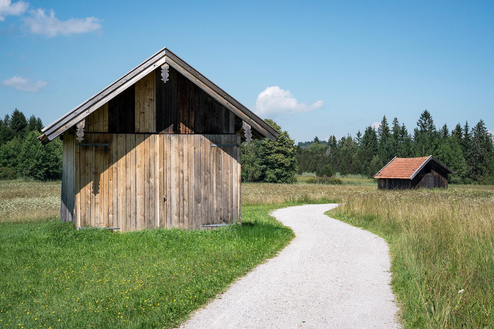 Wanderung am Staffelsee, Bayern