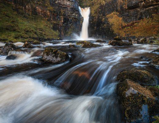 Fotospot Lealt Falls, Isle of Skye