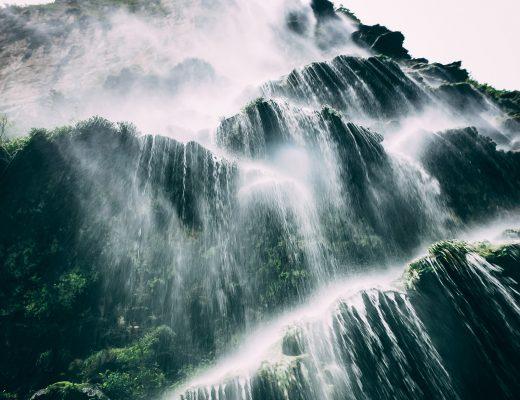 Wasserfall im Sumidero Canon, Mexiko