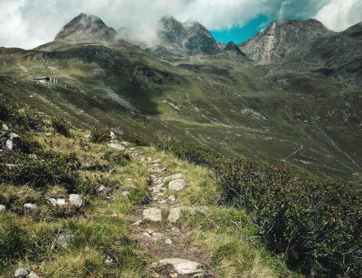 Wanderung im Gleirschtal, Tirol, Österreich