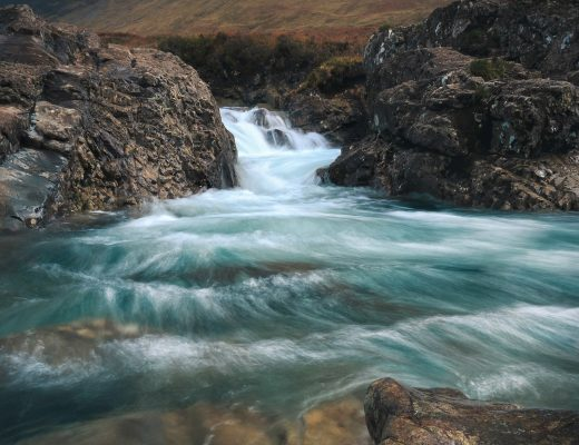 Fairy Pools auf der Isle of Skye Schottland