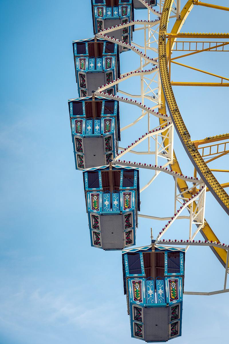 Riesenrad auf dem Münchner Frühlingsfest