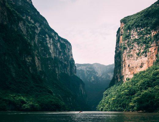 Cañón del Sumidero in Mexiko, Schlucht, Nationalpark, Speedboat