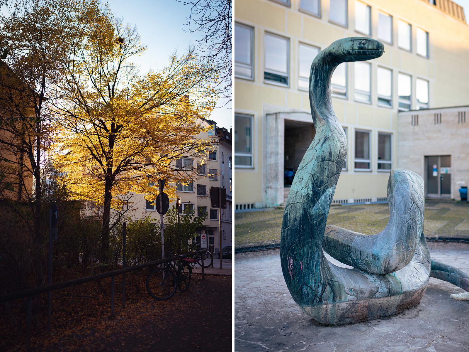 Schlangenbrunnen in München
